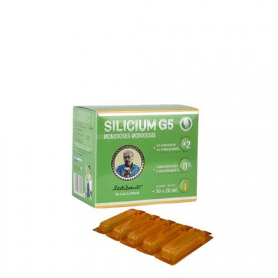 Silicium g5 monodosis 30x20ml