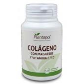 Colágeno + magnesio, vita. C+D 120 Compr. Linea Eco Plantapol