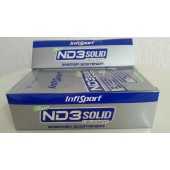 ND3 SOLID CITRICO CON CAFEINA barritas 21 unds. Infisport