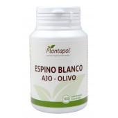 Espino blanco-ajo-olivo 100 comp. Linea Eco  Plantapol